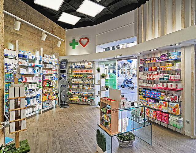 Interiorismo de farmacias y parafarmacias