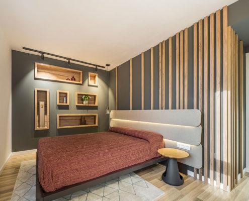 Dormitorio del ático en Marxalenes